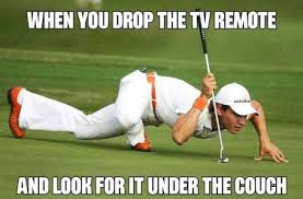 Drop It Meme - when you drop the tv remote and look for it under the couch meme xyz