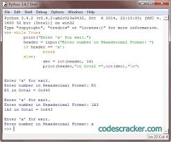 html input pattern hexadecimal python program to convert hexadecimal to octal