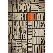 birthday cards harley davidson ace branded products