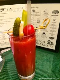 breakfast bloody marys and more at sketch