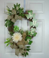 s day wreaths luck st s day wreath wreaths saints and craft