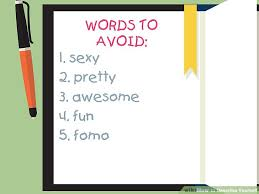 Words To Use In A Resume To Describe Yourself 3 Ways To Describe Yourself Wikihow
