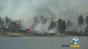Wildfire Near Julian Ca by Castaic News Abc7 Com