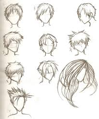 sketches of hair hair sketches by ajbluesox on deviantart