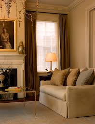 Gold Satin Curtains Satin Curtain With Gold Ceiling Dining Room Traditional And Rod