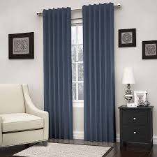 Portable Blackout Blinds Eclipse Kenley Blackout Window Curtain Panel Multiple Colors And
