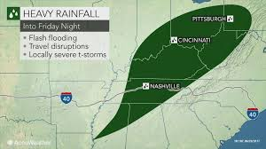 Ohio Weather Radar Map by Cindy U0027s Major Flood Threat To Persist As Storm Unleashes Up To A