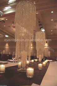 Chandelier Centerpieces Wholesale Chic Modern Waterfall Crystal Chandelier Crystal Wedding