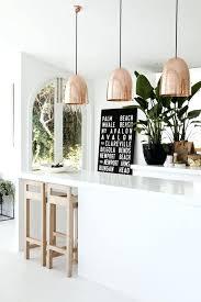 Copper Kitchen Light Fixtures Copper Pendant Light Fixture Ricardoigea