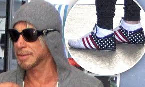 Mickey Rourke News Newslocker - mickey rourke shows bizarre style choices with shades worn over