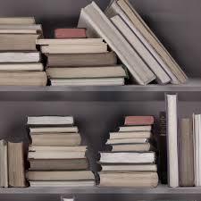 sample vintage bookshelf wallpaper samples office study