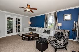 blue accent wall dark blue accent wall living room nakicphotography with blue