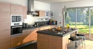 cuisine avec ilot central evier coins repas cadiet agencement artisan menuisier à guérande ilot de