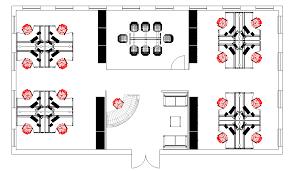 BiNA Office Furniture Queens NYC Cubicle Floor Plan Only Then - Bina office furniture