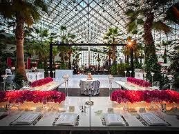outdoor wedding venues chicago garden at the navy pier chicago wedding venues chicago
