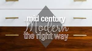 mid century modern furniture makeovers done right lost u0026 found