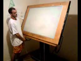 Drafting Table Light Drafting Table 3gp Youtube