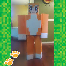 Minecraft Costume Halloween Minecraft Stampy Cat Costume Son Loved