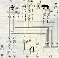 kawasaki zrx1200 ignition system circuit diagram and wiring
