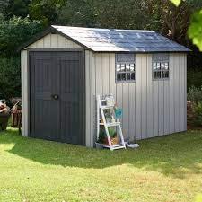 Backyard Storage Ideas by Decorating Keter Shed 8 Ft X 11 Ft Plastic Outdoor Storage Shed