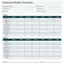 Bi Weekly Timesheet Template Excel Sle Excel Timesheet Free Printable Timesheet Templates