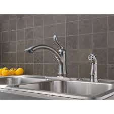 delta faucet 4453 ar dst linden arctic stainless one handle with