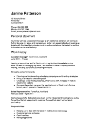 examples of professional resume cv and cover letter templates example of a work focused cv
