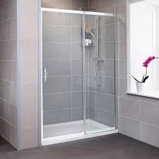 1400 Shower Door Aquafloe Iris 8mm 1400 Sliding Shower Door