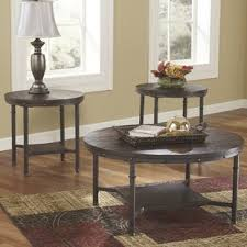 Rustic Coffee Tables And End Tables Loon Peak Coffee Table Sets You Ll Wayfair