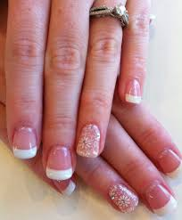 french tip nail designs gel nails karen rousseaux karen s nails