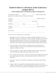 Sle Invoice For Independent Contractor by Sle Printable Indep Contractor Agreement 2 Form Sle