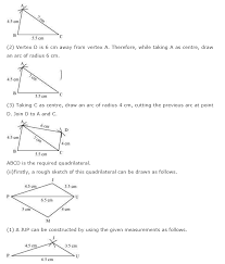 ncert solutions for class 8th maths chapter 4 practical geometry
