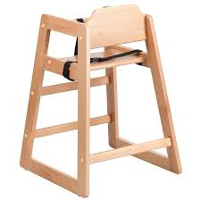 Target High Chair Bar Stool Restaurant Baby High Chair Natural Finish Back View