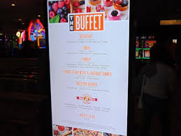 prices and hours picture of the buffet at luxor las vegas