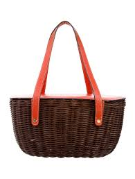 kate spade new york wicker basket henley purse handbags