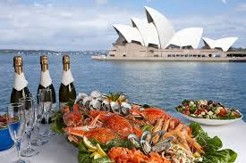 East Coast Seafood Buffet by Seafood Buffet Lunch Captain Cook Cruises