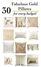 30 fabulous gold pillows for every budget anika s diy