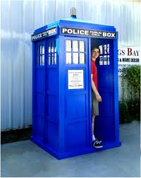 Dr Who Home Decor Blue English Police Call Box Doctor Dr Who Tardis Phone Booth