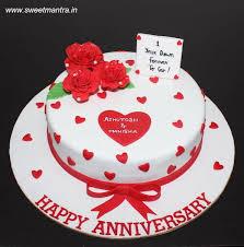 1st wedding anniversary cake 37 cakes cakesdecor