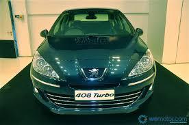 peugeot cars 408 launch peugeot 408 rm109 888 u0026 rm125 888 otr wemotor com
