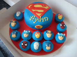 superhero squad cake and cupcakes a photo on flickriver