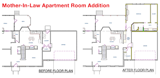 house plans with attached apartment apartment floorplan home plans blueprints 54747