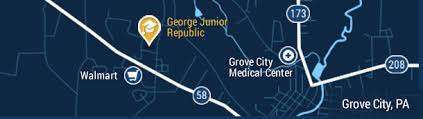 grove city outlet map george junior republic we never stop believing