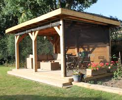 Gazebo For Patio by Roll Up Wall For Gazebos