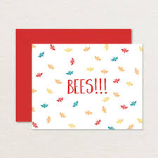 bees printable note card u2013 printable invitations and nerdy