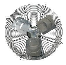 exhaust fan 12 in 115v 828 cfm built in household ventilation