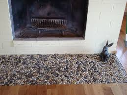 Rugs For Fireplace Hearths Glazed Bali Turtle Pebble Tile Fireplace Hearth Hearths And