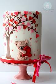 Valentine Decorations On Pinterest by Best 25 Heart Cakes Ideas On Pinterest White Heart Wedding