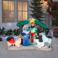 christmas airblown inflatable figures gemmy airblown inflatables