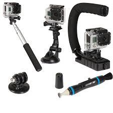 best camera kit deals black friday amazon com sunpak action 5 action camera accessory kit black